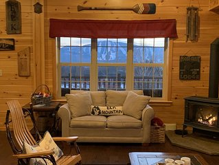 Brand new cabin with stunning view of Elk Mountain
