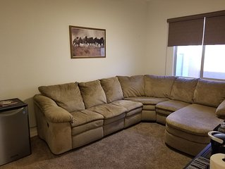Private 1 BDRM Suite with sitting room, Queen Creek/Gilbert AZ.