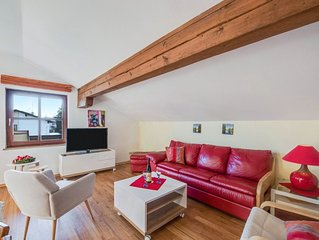 Alpenblick, Wohnung mit Terrasse und Balkon