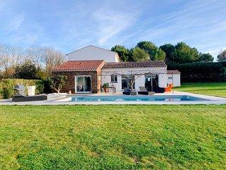 VILLA EMANEA avec piscine au coeur de la Provence Aixoise
