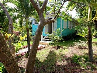 Neptune's Jewel - an elegant, newly-built studio cottage in quiet garden