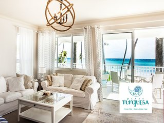 Playa Turquesa Ocean Club - Royal Oceanfront Luxury Beach House