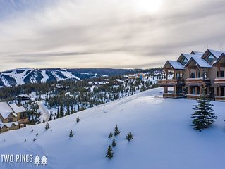 Moonlight Basin | Saddle Ridge Retreat | Ski in Ski Out, Hot Tub with a View!