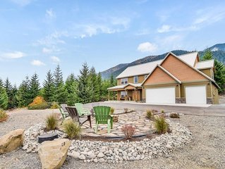 Large Secluded Mountain Estate_3rd Nt FREE_AWESOME Views_Hot Tub_Game Rm_WiFi