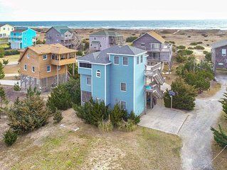 Beach Boys - Modern 5 Bedroom Semi-Oceanfront Home in Salvo
