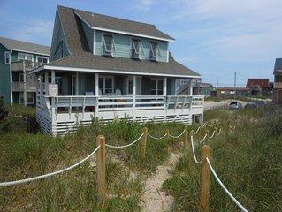 Oceanfront Pet Friendly Cottage, Outer Banks, Rodanthe, NC