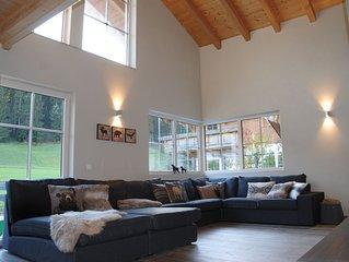 Chalet mes Amis - Ferienhaus für Familien - viel Platz und Licht