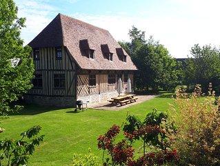 Charmant Manoir *** médiéval restauré, à 5 mn des commerces et 3 km de la  mer