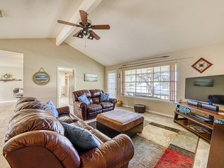 Comfortable riverview home w/ a spacious yard - steps from the water!