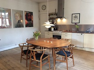 Spacious apartment in the heart of Copenhagen