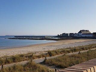 Villa sur la plage, Bretagne Sud , 8 personnes
