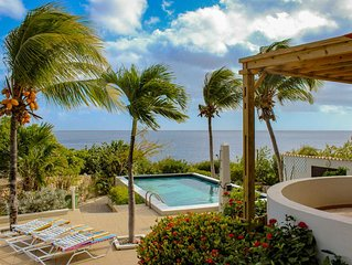 Sabadeco oceanfront home w/ spectacular views of the Caribbean Sea