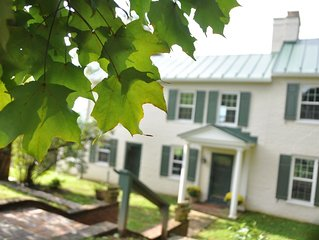 Maple Hill Farm within minutes of Vineyards, Wedding Venues and Horse Stables