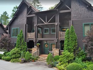 Indian Summer - Incredible Luxury 2 Bedroom 2.5 Bath Log Condo in heart of Sapph