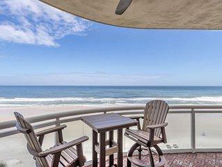 Incredible Balcony with Direct Oceanfront Views - Ocean Vista 509