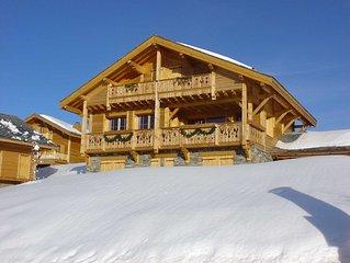 Grand Chalet Isolé, accès direct aux pistes | Sauna privé
