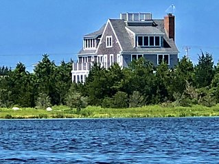 Waterfront Fall on Cape Cod! Sanitized Serenity! Enjoy Clean Fresh Ocean Views!