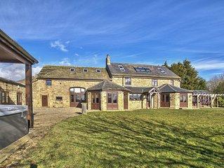 Large Countryside Farmhouse - Sleeps 16