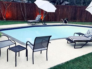 Private pool! Disinfected home. Easy cancellation policy.