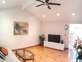 Entire Cozy House (3BD/1BR) N San Jose w/ free parking near San Jose Airport