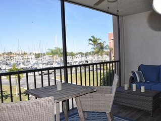 PARADISE FOUND!! 2nd Floor condo w/ Marina View, Recently Updated