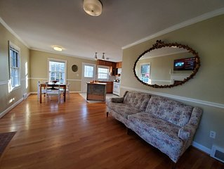 Safe Haven featuring brand new towels, linens, TV, gas cooking, stylish reno!