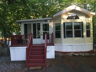 Clean & cozy updated family resort cottage!  Located on quiet dead end street.