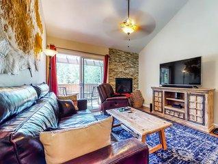 Ideally located mountain retreat near skiing, golf & fishing
