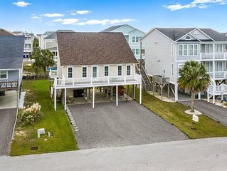 Comfortable, bright and sunny beach house.  Steps away from beach access.