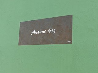 """'Dass Grune Haus  - Anduns 1813, Maisonette Deluxe"""""""
