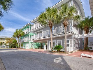 'Mare Blu' 30A Seagrove Beach Rental w/ Gulf Views + Steps to Pool + Free Bikes!