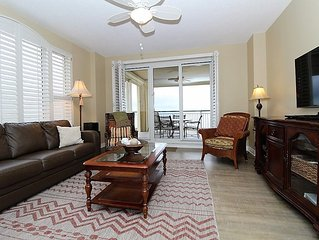 Updated Gulf Front Beach Colony End Unit- Spectacular Views, Book Today!