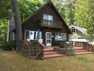 Grandview Chalet Mullett Lake.  June-August rentals are Monday to Monday.