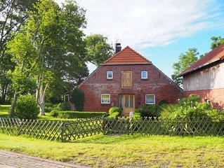 Ehemaliges Bauernhaus, am Deich in einsamer,ursprunglicher Landschaft gelegen