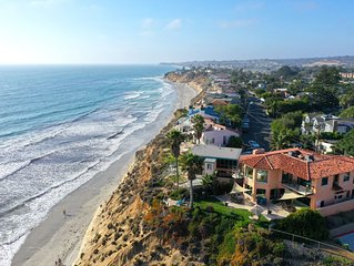 Gorgeous Oceanfront Beach House, Walk to Beach, DEL MAR / SOLANA BEACH