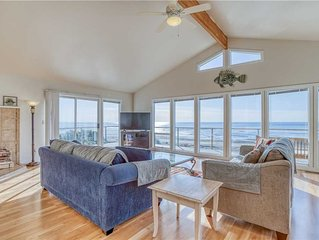 Ocean Front Vacation Home in Taft District, Private Beach Access