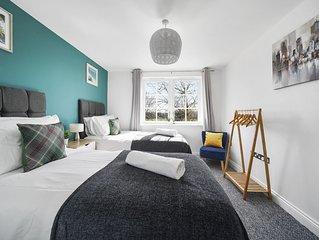 �Luxury 2 Bed Apartment�6 Guests�En-Suite�WiFi
