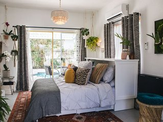 The Getaway... A Boho Bungalow surrounded by the South Florida sun.