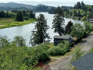 On the banks of the Nehalem River really close to beautiful Oregon Beaches