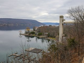 LABOR DAY is Available!  Remodeled Condo Overlooking Canandaigua Lake