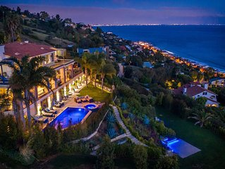 Exclusive Malibu Villa w/ Ocean View & Amenities. Vacations, Special Event, Film