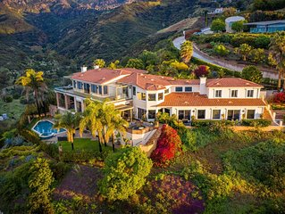Exclusive Malibu Villa w/ Ocean View & Amenities. Vacations, Special Event, Film