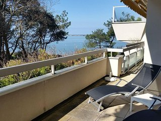 Le Panoramic - Sea View Apartment - Arcachon
