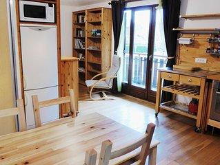 Grand studio pour 3-4 pers. au bord du lac d'Annecy