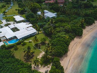 SURFSONG Luxury oceanfront Villa in Buccaneer Estates on Shoys Beach