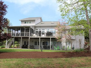 Your Personal Oasis Awaits You. Beautiful Lake Front Home overlooking State Park