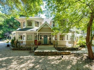 Tranquil Forested Chateau W/ Mineral Spring Spa-Near Beaches