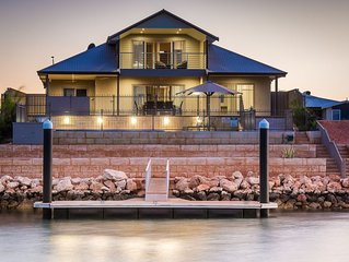 Luxurious Marina Home with a Private Jetty and Pool