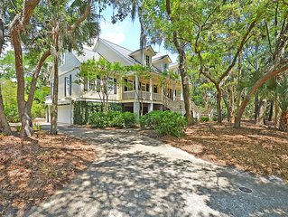 Gorgeous Seabrook Home on Captain Sam's Creek