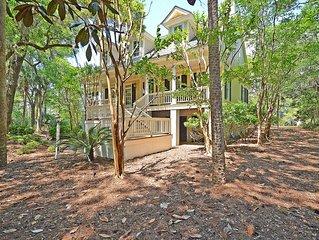 Gorgeous Seabrook Home on Captain Sam's Creek